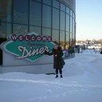 Лиелахти, торговый центр Kruunukaluste,ресторан American Diner