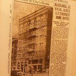 Hotel Mayflower in the San Francisco Chronicle