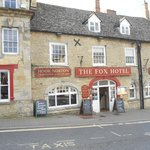 The Fox Hotel, right in the centre of Chipping Norton