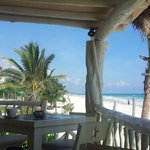 Blick von Restaurant/Bar