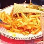 club sandwich poulet roti