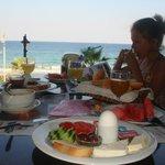 Типичный турецкий завтрак в отеле