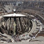 Colosseum from the top