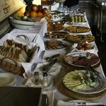 colazione continentale abbondante e gustosa