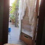 doorway to porch