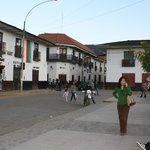Hotel en  la misma Plaza de Armas