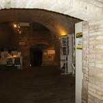 l'ingresso del Pozzo Etrusco