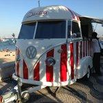 Puesto movil de Santini´s : la heladería mas hipster del mundo
