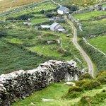 De muren van het land. De Kelten hebben het gemaakt.