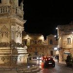 Ostuni Square at Night
