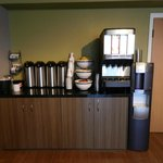 Start your morning with some coffee at our station!