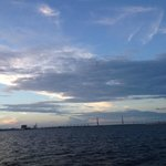 a typical sunset is Charleston