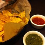 Great salsas with perfect corn chips