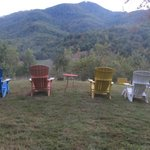 Overlook with Adirondack Chairs