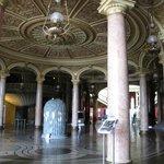 interior of Enescu music hall