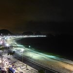 Copacabana at night