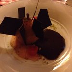 mouthwatering pear and chocolate