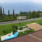 Hotel Diana,San Zeno di Montagna - Sicht auf den Gardasee