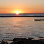 sunset at Pioneer Beach