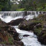 Waterfall at the resort