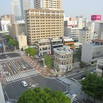 View from our room looking at Nagoya