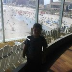 View  overlooking Beach and Boardwalk
