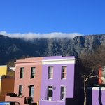 Table Mountain from the Malay quarter