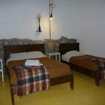 Room Alan...comfy, firm, warm beds :)