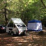 Our campsite A-16