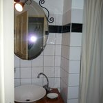 bathroom, nice but in need of a few small repairs