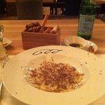 goose liver ravioli