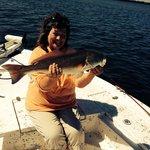 Woo hoo!  Redfish :)