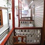 Balkon - Abstand zum Nachbarhaus 1 Meter....