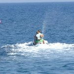 my sons jet skiing