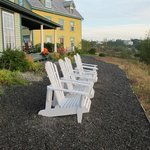 Perched high above the Port Rexton bay, Fishers' Loft Inn provides a wonderful view!
