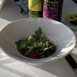 Salad Course (my half)