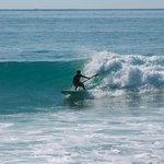 David - surfing somewhere in Cabo