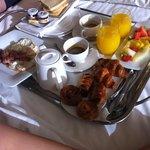 desayuno en la habitación