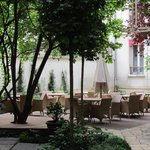 Quaint Courtyard
