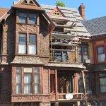 The Richards House - outside