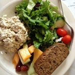 lunch chunky chicken salad