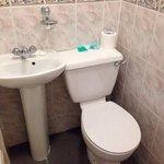 bathroom in room #205