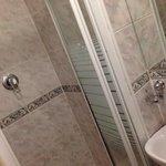 shower very tiny