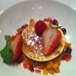So glad we shared dessert.  Wonderful.