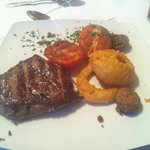 The amazing fillet steak