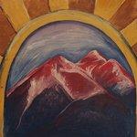 Angel of Shavano mountain