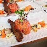 Sphère de saumon ...