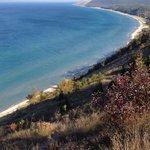Lake Michigan shoreline near Glen Arbor and Glen Haven