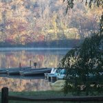 Early morning docks