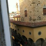 View of the Ponte Vecchio from our room